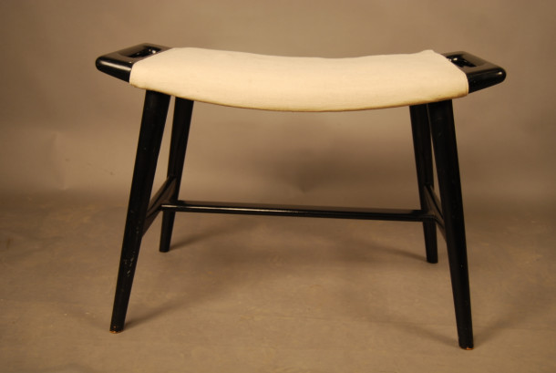 sold hans wegner piano papa bear stool a335 danish vintage modern. Black Bedroom Furniture Sets. Home Design Ideas