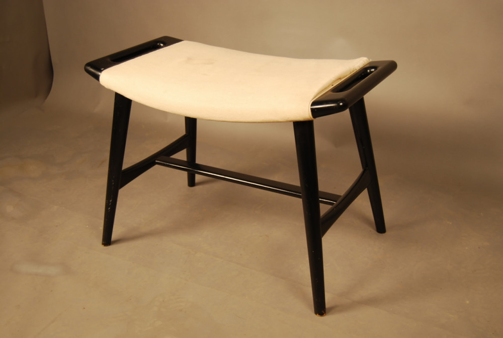 ... Hans Wegner Papa Bear/piano stool & SOLD - Hans Wegner Piano/Papa Bear Stool A335 - Danish Vintage Modern islam-shia.org