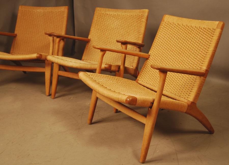hans wegner ch25 easychair 28d046 danish vintage modern. Black Bedroom Furniture Sets. Home Design Ideas