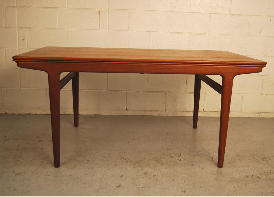 ... Danish Teak Dining Table By Johannes Andersen ...