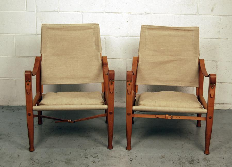 Kaare Klint Safari Chairs · Kaare Klint Safari Chairs ...