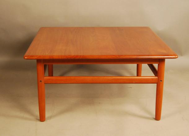 Danish Teak Square Coffee Table 32d096 Danish Vintage Modern