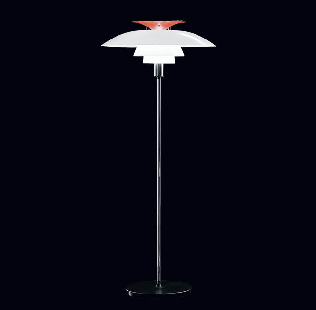 Ph80 floor lamp danish vintage modern for Modern floor lamp philippines
