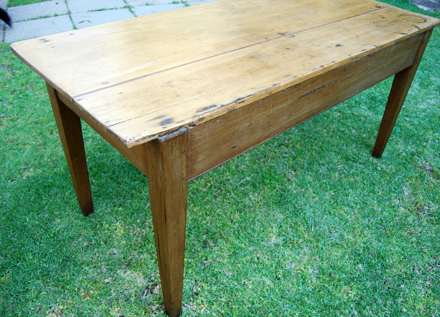 ... Early Australian Gum And Pine Farmhouse Table